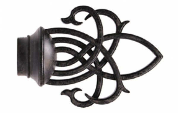 """Wrought Iron- 1"""" Diameter Collection #56357"""