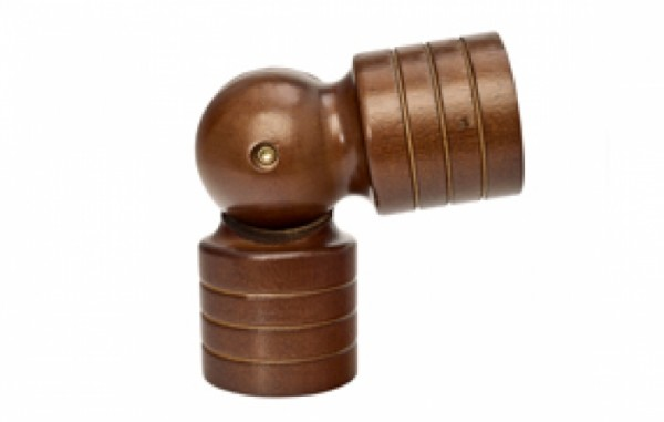 Kirsch Drapery Hardware Wood Trends Collection #5506EGG