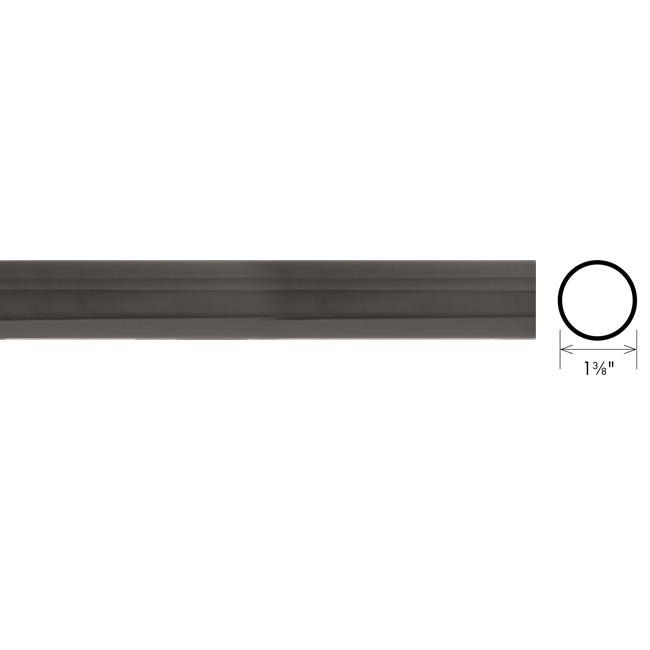"""The Finial Company 1 3/8"""" Modern Metal Collection #TFCM138010"""